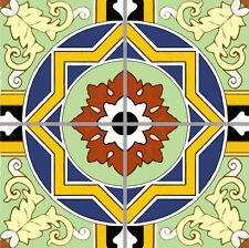 "Catalina Courtyard Art Tile Mural Kitchen Custom Back Splash Ceramic Accent 12"""