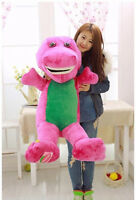 90cm Gaint  Big Barney The Dinosaur Plush Soft  Kid Baby Toys doll Pillow Gift