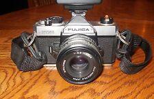FUJINON Lens 1:22 F=55mm - FUJICA STX-1 Camera - Vivitar Auto Thyristor SMS 30D