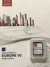 Genuine Nissan Connect 3 Tarjeta SD mapa de navegación más reciente 2017 Reino Unido y Europa