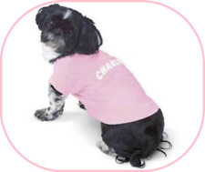 SMALL DOGS BABY PINK SHORT SLEEVE TEE SHIRT (100% COTTON) BRAND NEW FOR DOGGIE