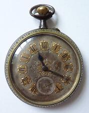 Régulateur grosse montre à gousset  19e siècle pocket watch