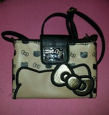 Hello Kitty Loungefly Crossbody Bag Gold New without tags