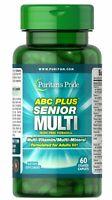 Puritan's Pride ABC Plus Senior Multivitamin Multi-Mineral Formula with Zinc-60