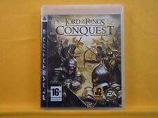 ps3 LORD Of The RINGS Conquest An Action Strategy Game PAL UK REGION FREE
