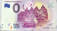 BILLET 0 EURO NORDEN NORDDEICH  ALLEMAGNE 2019-2 NUMERO RADAR 1441