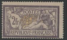 "FRANCE STAMP TIMBRE N° 122 "" MERSON 2F VIOLET ET JAUNE "" NEUF xx TB SIGNE   K439"