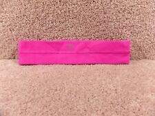 Very Gently Used Lululemon Althletica Head Band Small Dark Pink Nice Condition