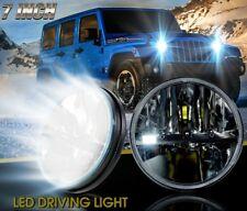 2x 7 Inch 80w Round LED H4 Headlight For 97-17 Jeep Wrangler JK TJ CJ Work Light