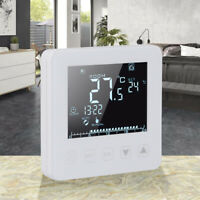 100-240V Smart Digital Programmable WiFi Thermostat w/ Button for Heating System
