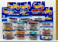 19 Pc Hot Wheels Corvette Lot No Two Alike 1991 - 2004 Stingray 80s Die Cast NOC