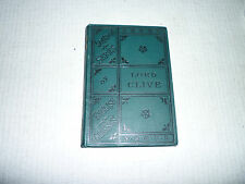 A biography: Lord Clive by T.B. Macaulay edited by H.C.Bowen, 1889