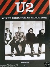 "U2 ""How To Dismantle An Atomic Bomb"" U.S. Promo Poster - Group Sitting Together"