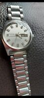 Vintage Tissot T12 Seastar Automatic Day Date Mens Watch