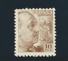 SPAIN 1940, 10pts FRANCO VF MNH Sc#705 CAT$300 (SEE BELOW)