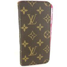 Auth LOUIS VUITTON IPHONE6 PLUS FOLIO iPhone 6 Plus Case Monogram M61634 Rose