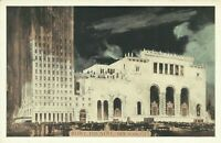 Roxy Movie Theatre Lumitone 1930s New York City Postcard