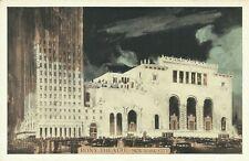 Roxy Movie Theatre Lumitone 1930s New York City Postcard