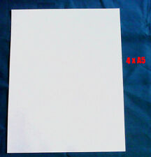 Decal Clear Waterslide Inkjet Paper 4 x A5 Sheets (65p per Sheet) Fast Delivery