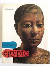 L'art de l'ancienne Egypte, l'art et les grandes civilisations, Mazenod 1968