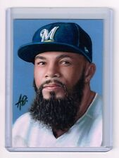 2017 ACEO Sketch Card ERIC THAMES Milwaukee Brewers 1/1
