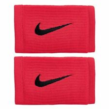 NIKE REVEAL Dri-FIT Reveal Double Wide Wristbands, Red