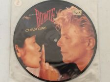 """David Bowie - China Girl - Picture Disc 7"""" Single Vinyl Record 45rpm UK Import"""