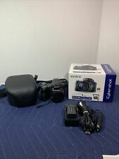 Sony Cyber Shot DSC-HX1 SLR Digital Camera with Case and accessories