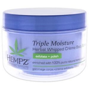 Hempz Triple Moisture Herbal Whipped Creme Body Scrub 215.35 ml Skincare