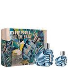 New Diesel Only The Brave Gift Set Box- 75ml + 35ml Edt Sprays For Him Present