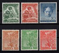 P130726/ BERLIN – GERMANY / Y&T # 66 / 67 – 73 / 76 MNH FULL SETS CV 176 $