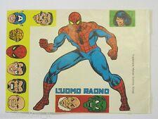 VECCHIO ADESIVO / Old Sticker UOMO RAGNO SPIDERMAN  (cm 17x12)