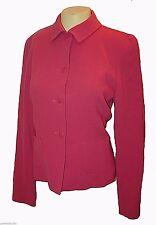 Blazer, Doncaster, 100%-Wool Lined Coral-Pink NWOT, 6