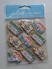 EK SUCCESS JOLEE'S BOUTIQUE Bon Voyage Tag répéter Autocollants Entièrement neuf sous emballage