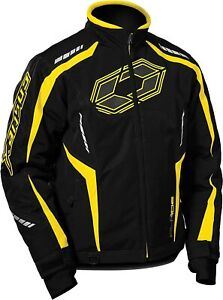 Castle X, 70-7032, Men's Blade G3 Snowmobile Jacket - Yellow, Small
