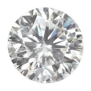 1 Round Cut Brilliant Moissanite True Light 7mm Diameter 1.20 tcw Loose Stone