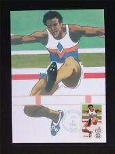 USA MK OLYMPICS 1984 RUNNING MAXIMUMKARTE CARTE MAXIMUM CARD MC CM c5955