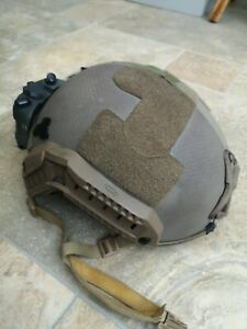 Ops core helmet Evolution Gear with upgraded furniture (full thickness)