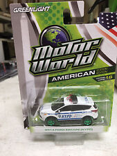 Greenlight 1/64 GREEN MACHINE NYPD New York City Police Ford Escape MOTORWORLD