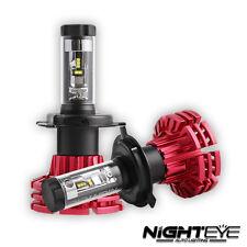 NIGHTEYE 2X 60W 10000LM H4 HB2 9003 LED Headlight Kit Fog Light Bulbs DRL HI/LOW