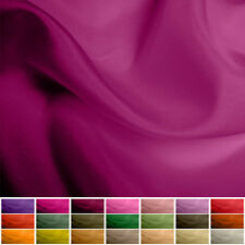 100% Pure Silk fabric Habotai - 8 mommy - Multiple Colours - 45""