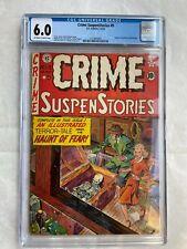 Crime Suspenstories #9 CGC 6.0 Universal EC Comics 1952
