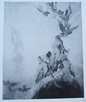 1979 Norman Lindsay, Centenary Exhibition of Graphic Art, free EXPRESS w/wide