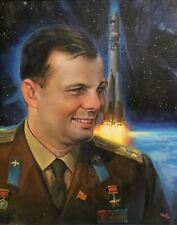 Gagarin, Yuri A. 1970 HOF Portrait GLOSSY PHOTO PRINT 3609