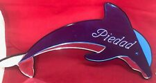 Personalized Dolphin Wall Plaque Wall Decor Hanging dolphin Mirror Free Engrave