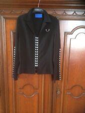DIDIER PARAKIAN : Veste noire originale , toute neuve en T :38