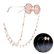 Eyeglass Reading Spectacles Sunglasses Glasses Cord Holder Necklace Chain TK