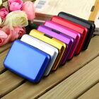 Slim Business ID Credit Card Wallet Holder Aluminum Metal Pocket Case Box Purse#