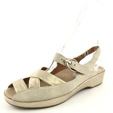 Earthies Malina Suede Nude Slingback Sandals Women's Size 7 M*
