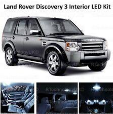 NEW LAND ROVER DISCOVERY 3 XENON WHITE INTERIOR LED LIGHT BULB KIT